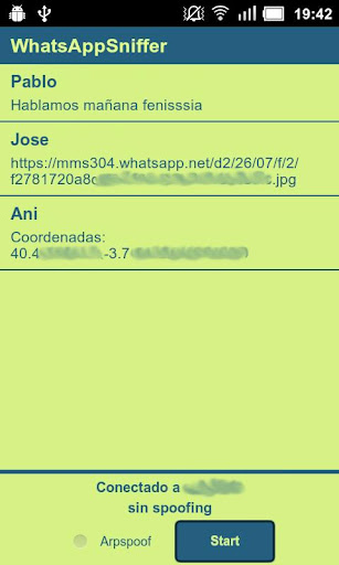 WhatsAppSniffer: Intercettare Conversazioni WhatsApp [Android App]