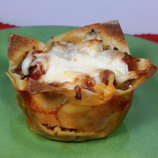 "Lasagna ""Cupcakes"""