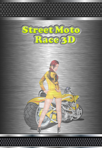3D Street Motorcycle Racing