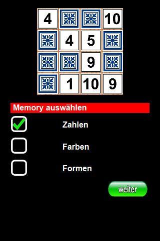 Zahlen Memory