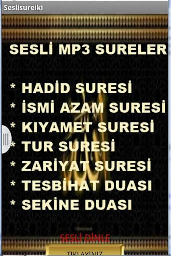 SESLİ DUALAR VE SURELER 3