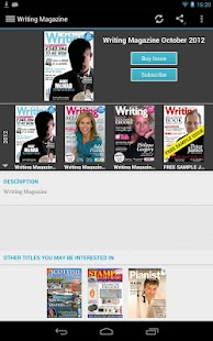 Writing Magazine - screenshot thumbnail