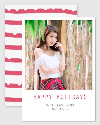 Greetings Card Photo Frame