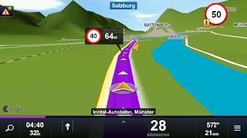 Screenshot of Sygic: Edice Vodafone