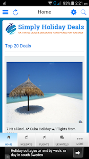 Simply Holiday Deals- screenshot thumbnail