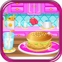 Chicken Burgers Cooking Games icon