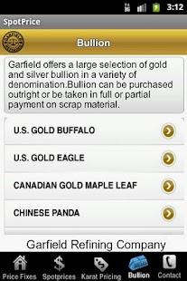 SpotPrice- screenshot thumbnail