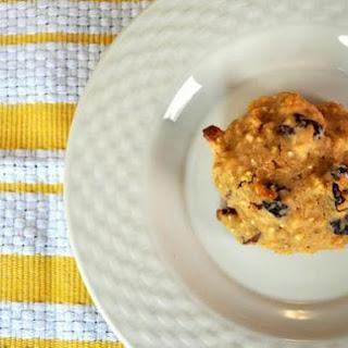 Almond Cherry Quinoa Cookies.