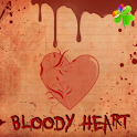 Bloody Heart Theme GO Launcher icon