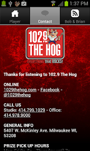 102.9 The Hog - screenshot thumbnail