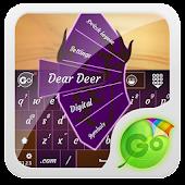 Dear Deer GO Keyboard Theme