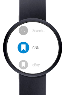 Web Browser for Android Wear- screenshot thumbnail