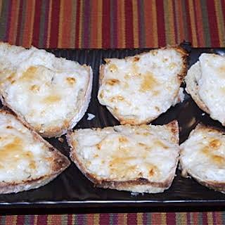 Parmesan Crab Bites.