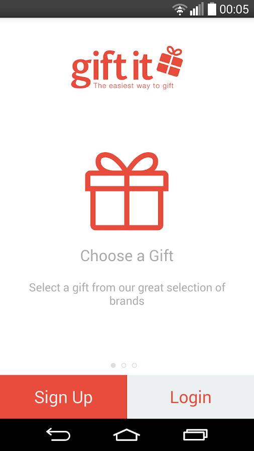 Gift It App- screenshot