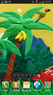 Plasticine jungle LWP - screenshot thumbnail