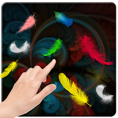 Feather Falling Wallpaper 2014