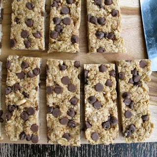 No-Bake Super Chewy Chocolate Chip Peanut Butter Oat Bars
