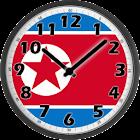 North Korea Clock icon