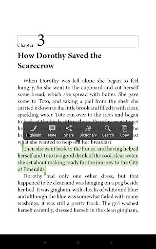 Aldiko Book Reader screenshot
