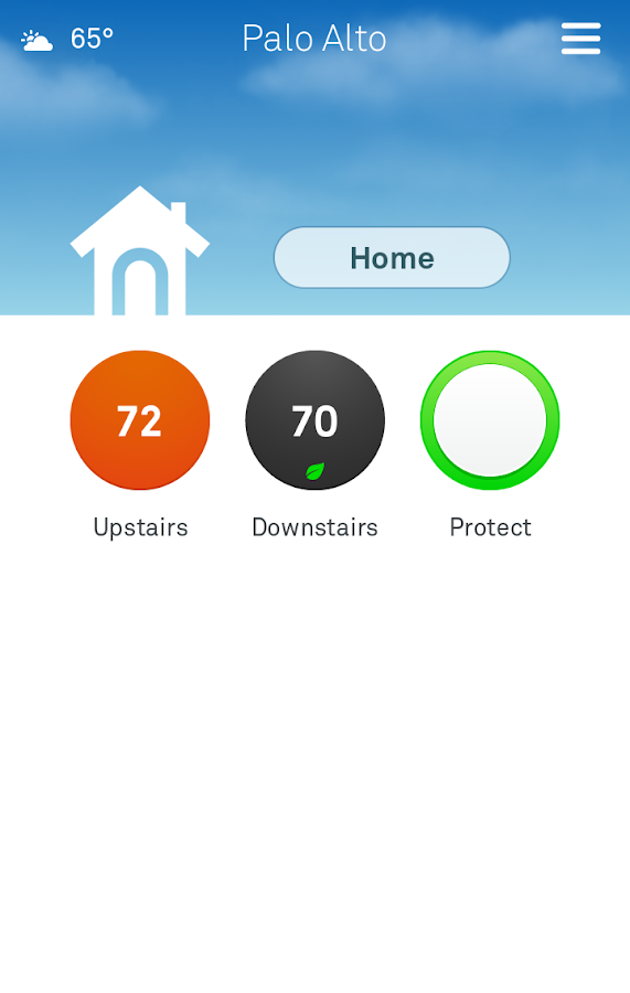 Nest - screenshot