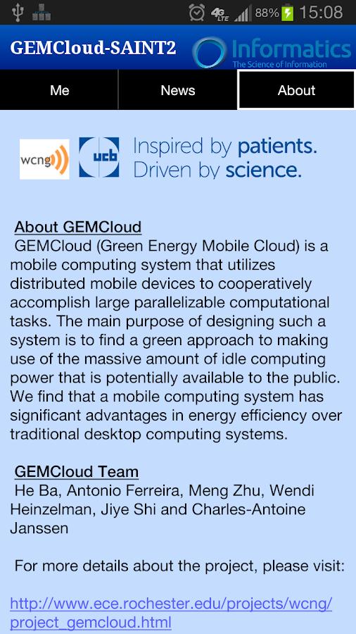 GEMCloud - screenshot