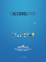Screenshot of Calcoholator