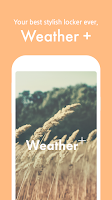 Screenshot of Weather +