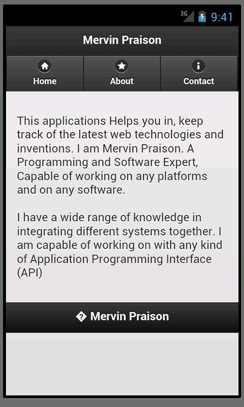 Mervin Praison (en)- screenshot