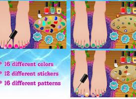 Screenshot of Foot spa for kids – Lena's Spa