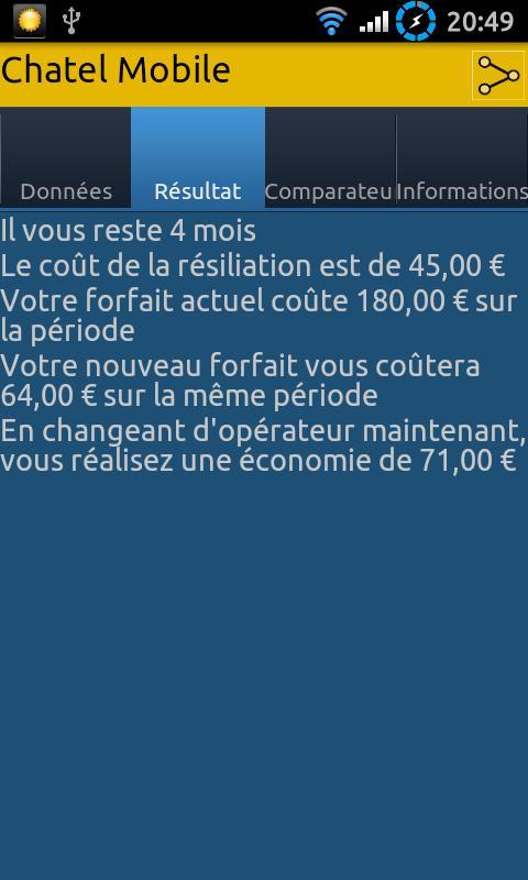 Chatel Mobile- screenshot