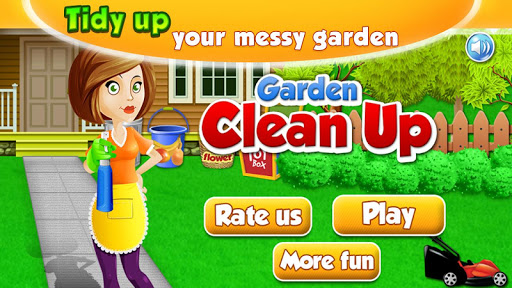 Home Cleanup Games - Garden