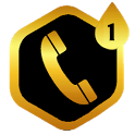 PP THEME PIXELPHONE BLACK GOLD icon