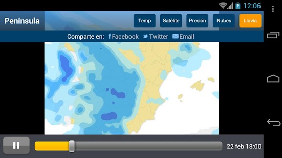Tiempo y Temperatura- screenshot thumbnail