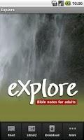 Screenshot of Explore Bible Devotional