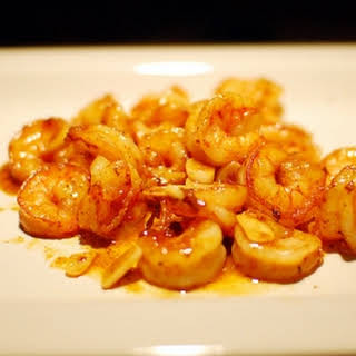 Pastor Ryan's Spicy Orange Garlic Shrimp.