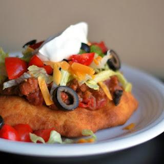 Oklahoma Indian Tacos.