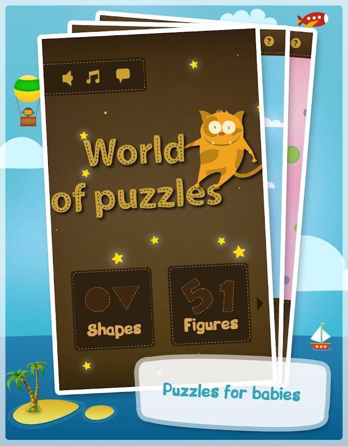World of puzzles -Kids puzzles - screenshot
