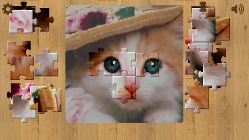 可愛的貓拼圖