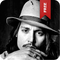 Johnny Depp Live Wallpaper logo