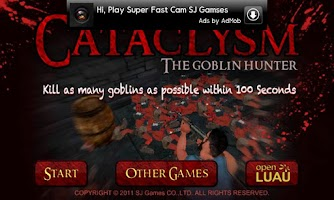 Screenshot of Cataclysm