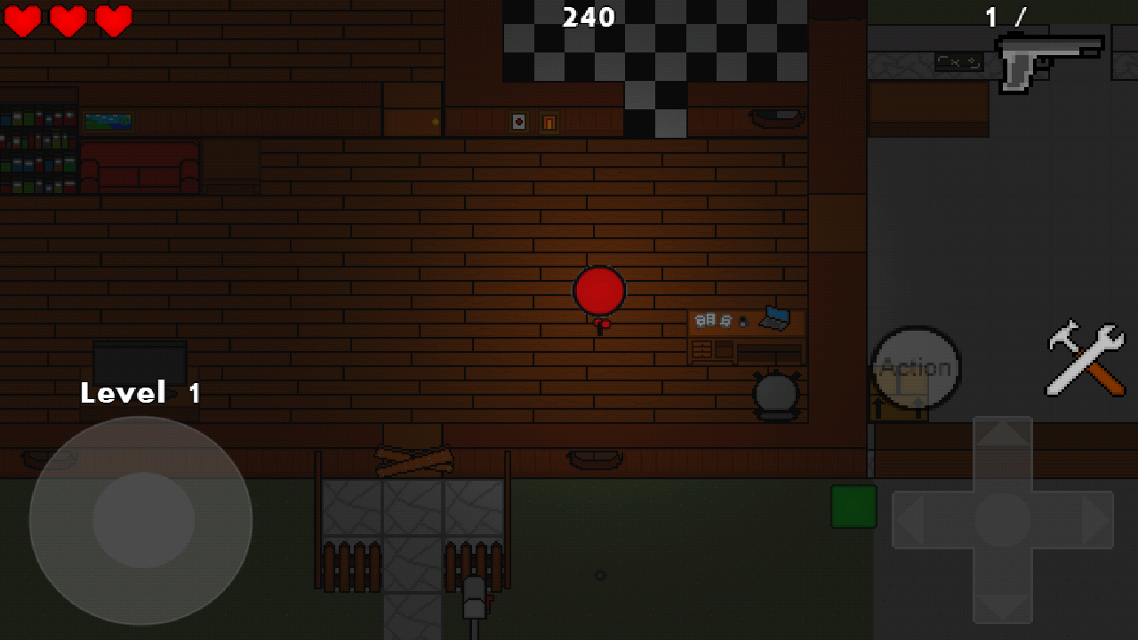 Zombie Cubes - screenshot