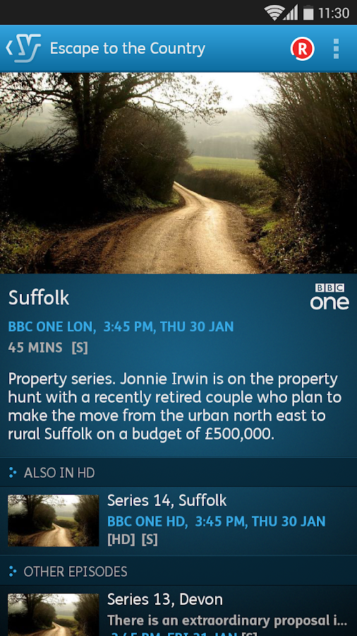 YouView - screenshot