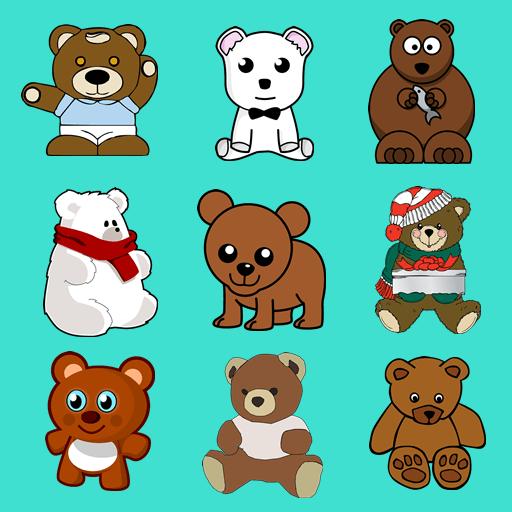 Bear Memory Game LOGO-APP點子
