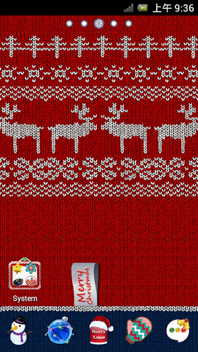 Merry Christmas Go Launcher