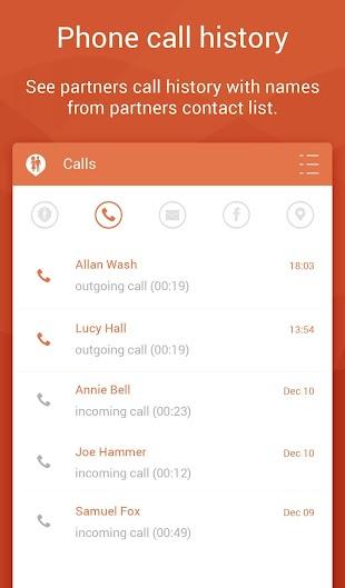 Couple Tracker - Phone monitor- screenshot thumbnail