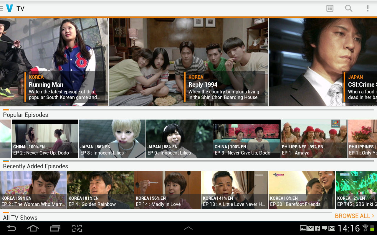 Viki: Watch TV Shows & Movies - screenshot