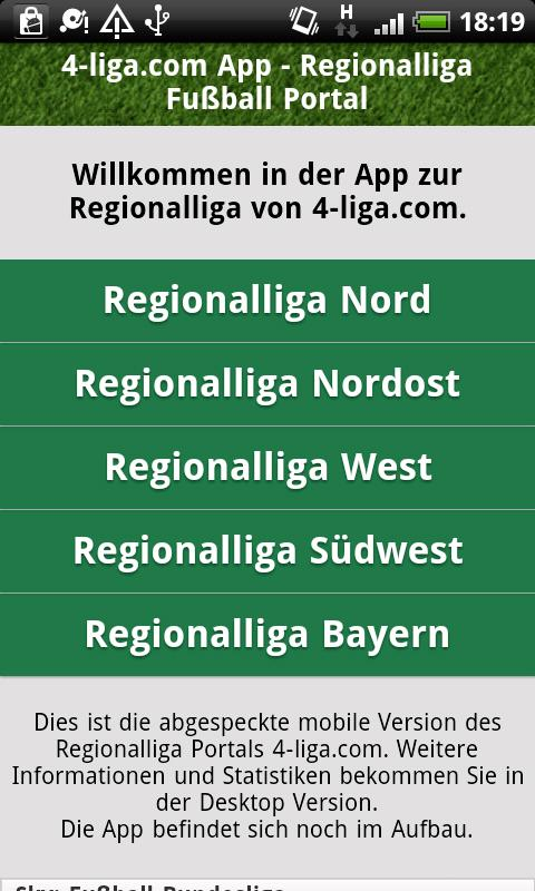 germany regionalliga west table