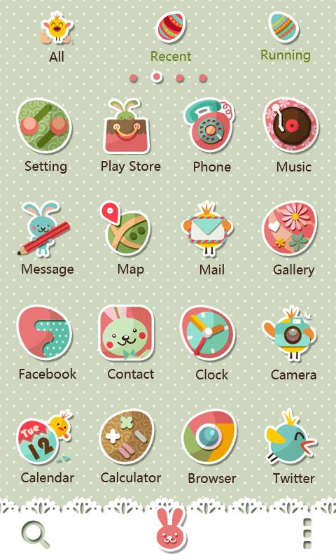 Good Mood - GO Launcher Theme - screenshot