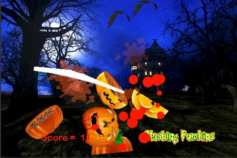 Slashing Pumpkins- screenshot