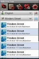 Screenshot of Melbourne Train
